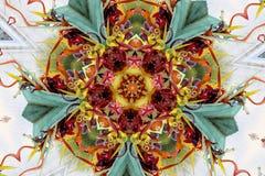 Caleidoscopio multicolor Foto de archivo libre de regalías