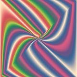 Caleidoscopio multicolor, espiral del centro Foto de archivo
