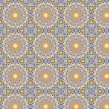 Caleidoscopisch abstract naadloos patroon Stock Afbeeldingen