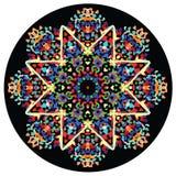 Caleidoscopisch ornament Royalty-vrije Stock Afbeeldingen