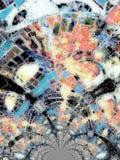 Caleidoscopisch Patroon Stock Foto