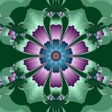 Caleidoscopische Bloem Royalty-vrije Illustratie