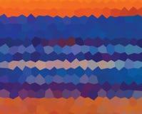 Caleidoscopische lage poly het mozaïekachtergrond van de driehoeksstijl Royalty-vrije Stock Afbeeldingen