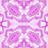 Caleidoscopische overladen achtergrond Naadloos patroon in fuchsia Royalty-vrije Stock Afbeelding