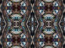 Caleidoscopische patroontextuur Royalty-vrije Stock Afbeeldingen