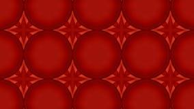 Caleidoscopische Rode Abstracte Lijn stock video