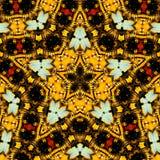 caleidoscópio da Estrela-forma Foto de Stock