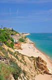 Calella on the Costa Brava Royalty Free Stock Images
