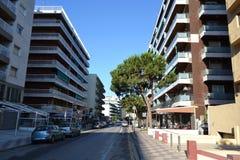 Calella, Costa-Brava beach. Stock Images