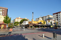 Calella, Costa-Brava beach. Royalty Free Stock Photo