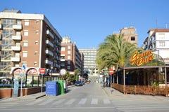 Calella, Costa-Brava beach. Royalty Free Stock Images