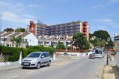 Calella, Costa-Brava beach. Royalty Free Stock Photography