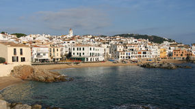 Calella de Palafrugell Royalty Free Stock Images
