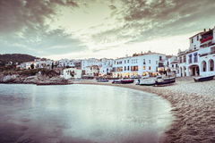 Calella de Palafrugell Royalty Free Stock Photo