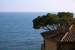 Calella de Palafrugell, Catalogne, Espagne Images stock