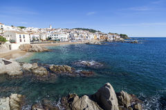 Calella de Palafrugell, Catalonia, Espanha Fotografia de Stock Royalty Free
