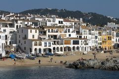 Calella de Palafrugell, Catalonia, Spain Stock Photography