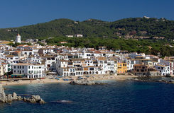 Calella de Palafrugell, Costa Royalty Free Stock Photography