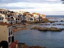 Calella de Palafrugell, Costa Brava, Cataluña Foto de archivo