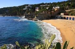 Calella de Palafrugell (costa Brava, España) Foto de archivo libre de regalías