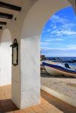Calella de Palafrugell (costa Brava, España) Imagen de archivo