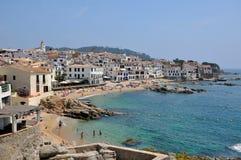 Calella De Palafrugell Costa Brava, Espagne Images libres de droits