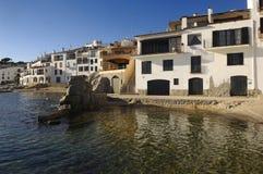 Calella de Palafrugell, Costa Brava, Girona, Spanien royaltyfria bilder