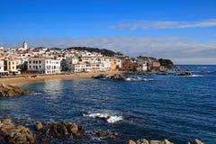 Calella de Palafrugell (Costa Brava, Spagna) Fotografia Stock Libera da Diritti