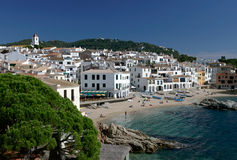 Calella de Palafrugell, Costa Brava, Spain Royalty Free Stock Photography