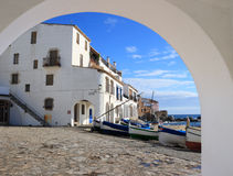 Calella de Palafrugell (Costa Brava, Spain) stock photos