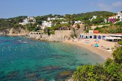 Calella-De Palafrugell Costa Brava, Spanien Lizenzfreie Stockbilder