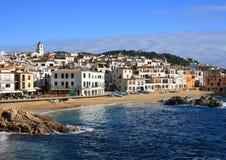 Calella DE Palafrugell (Costa Brava, Spanje) Royalty-vrije Stock Fotografie