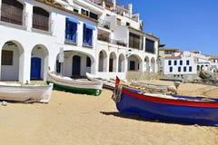 Calella de Palafrugell, Espanha Foto de Stock Royalty Free