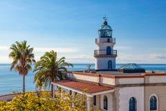 Calella lighthouse Stock Image