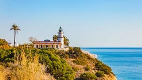 Calella lighthouse Stock Photos