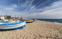 Calella Mar,Catalonia,Spain. Royalty Free Stock Images