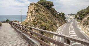 Calella Mar,Catalonia,Spain. Stock Image