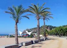 Calella Promenade Spain Stock Photo