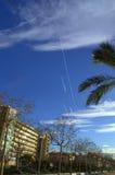 Calella resort promenade,Spain Stock Image