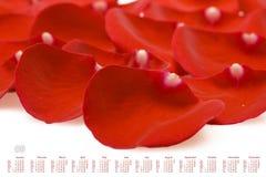 Calendário 2009 Imagens de Stock Royalty Free
