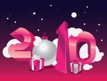 Calendário 2010 Fotografia de Stock