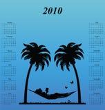 calendário 2010 Fotos de Stock