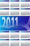 Calendário 2011-6 Fotografia de Stock