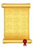 calendário 2012 Imagens de Stock