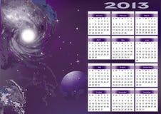 Calendário 2013 Fotos de Stock