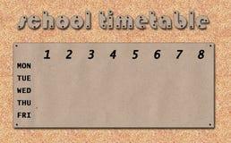 Calendário com gotas Imagem de Stock