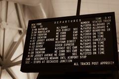 Calendário da autoridade portuária foto de stock