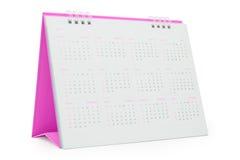 Calendário de mesa 2015 Imagens de Stock Royalty Free