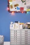 Calendário de Papai Noel Imagens de Stock Royalty Free