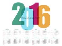 Calendário do ano Ilustração do vetor ilustração do vetor